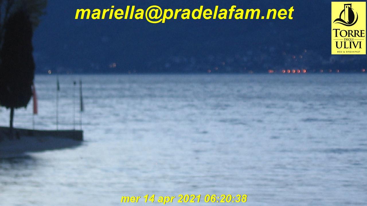 Tignale webcam - Porto di Tignale - Pra De La Fam webcam, Lombardy, Brescia
